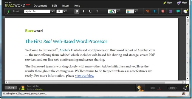 AdobeBuzzword