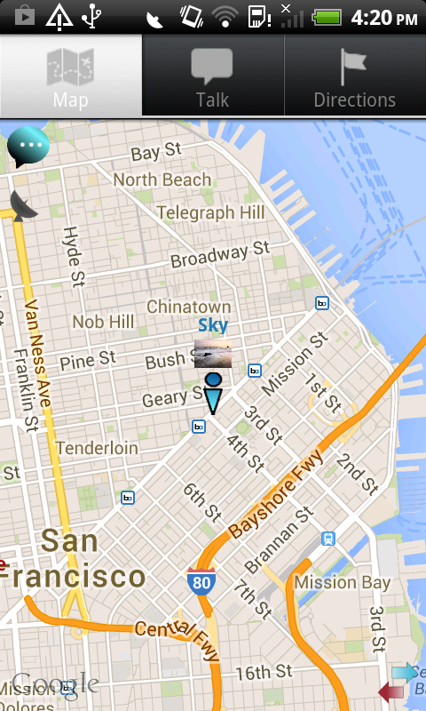Phone Tracker-IM Map Navigator Screenshot 1