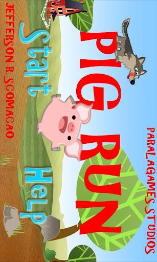 【免費休閒App】Pig Run Game-APP點子