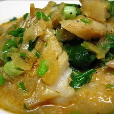 Thai-Style Tilapia With Coconut-Curry Broth