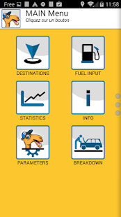 Camélys - Driving assistance - screenshot