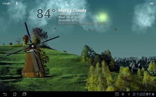 Screenshot of True Weather LWP