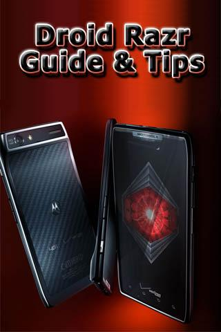 Droid Razr Guide Tips