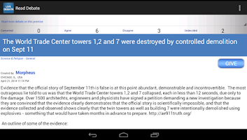 Screenshot of Debate MortalGuidance