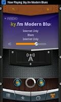 Screenshot of Blues Radio