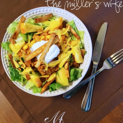 Rice and Bean Tex-Mex Salad