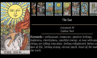 Screenshot of Tarot Touché Lite