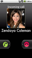 Screenshot of Zendaya Coleman Calling Prank