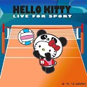 Hello Kitty Volleyball Theme