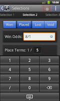 Screenshot of Sports Bet Calculator (free)