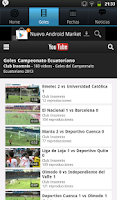 Screenshot of Futbol Ecuatoriano 2015