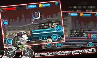 Screenshot of Stickman vs Zombies Battle
