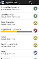 Screenshot of Free Hypnosis