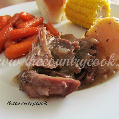 3-Packet Slow Cooker Pot Roast
