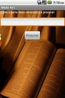 Screenshot of Bíblia NVI Offline