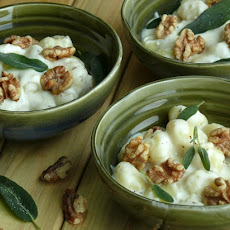 Creamy Gnocchi with Walnuts and Sage