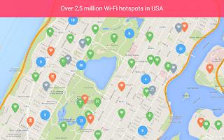 Screenshot of osmino Wi-Fi: free WiFi