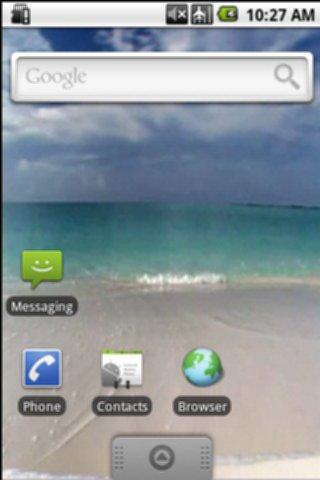 Warm Caribbean Beach
