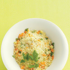 Couscous with Carrot and Cilantro