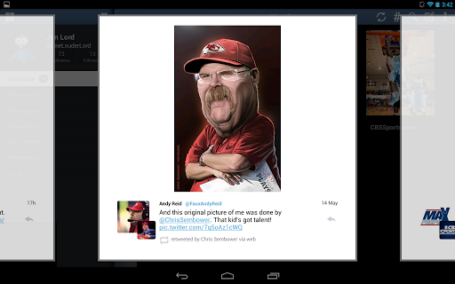 tweetcaster-pro-for-twitter for android screenshot