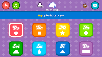 Screenshot of Fun Piano for kids