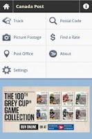 Screenshot of Canada Post Corporation