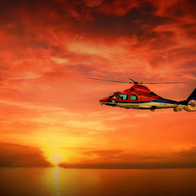 by Daniel Chang - Transportation Helicopters