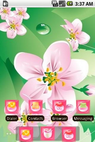 Pink Blossoms [SQTheme] ADW