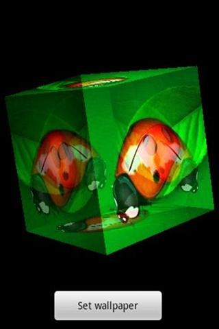 3Dのテントウムシ