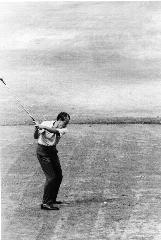 Golfing Nixon