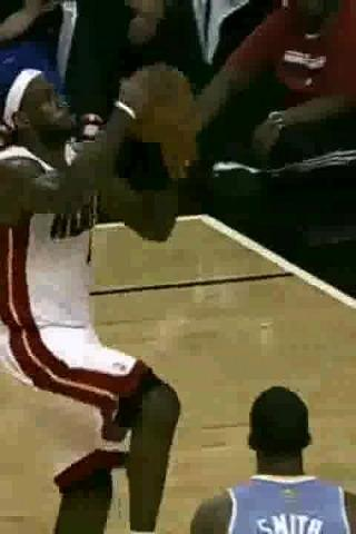 Lebron James Dunking Animated