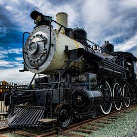 Old 2252 by Philip Venable - Transportation Trains ( diesel, engine, railyard, train, display )