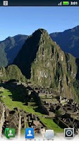 Screenshot of Machu Picchu Live Wallpaper