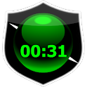 Crystal Digital Clock icon