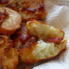 Cauliflower Cheese Fritters