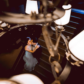 When Two Become One by Mike Tan - Wedding Bride & Groom
