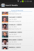 Screenshot of JailBase - Arrests + Mugshots