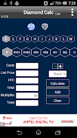 Screenshot of Diamond Calc Lite