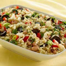 Rice & Black Eyed Pea Salad