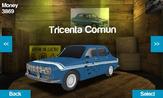 Screenshot of Romanian Racing
