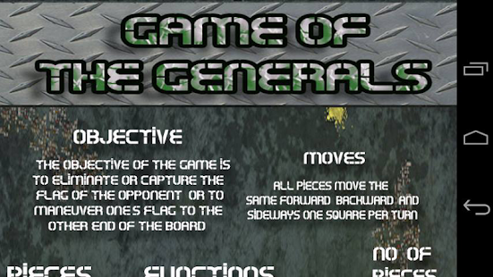 Game Of The Generals - screenshot