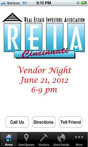 Cincinnati REIA Vendor Night