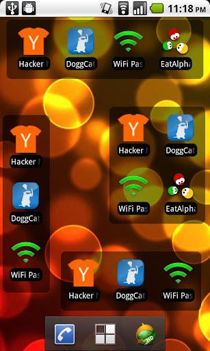 Recently Installed Apps Widget