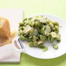 Lemony Lima Beans with Parmesan