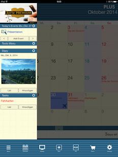 Jorte Kalender & Organizer – Miniaturansicht des Screenshots