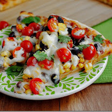 Santa Fe Summer BBQ Pizza