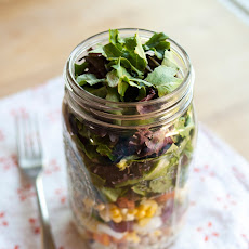 How to Pack the Perfect Salad in a Jar