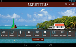 Screenshot of Mauritius Travel Guide