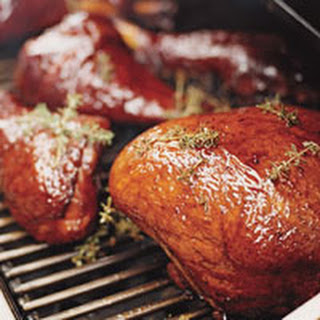 Adam's Bourbon-Glazed Barbecue Turkey