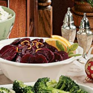 Beets With Orange Sauce Recipes